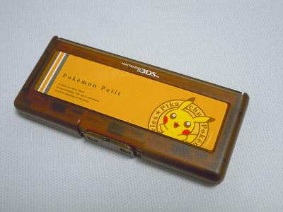 Pokémon Petit ピカチュウ 3DSカードケース