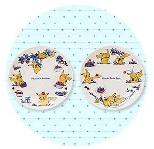 ピカチュウフォーカス 小皿2枚セット