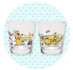 ピカチュウフォーカス グラス2個セット