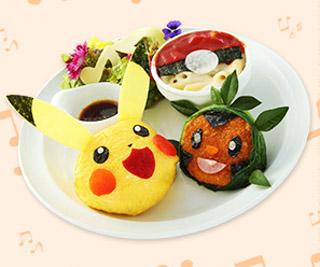 ピカチュウとポケモンおんがくたいカフェ by Sweets Paradise