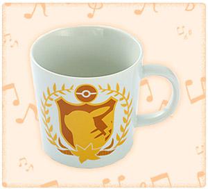 ピカチュウとポケモンおんがくたいカフェ マグカップ