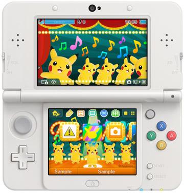 3DS テーマ ピカチュウダンシング!