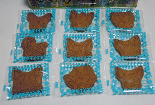 ブイズ フェイスシェイプクッキー