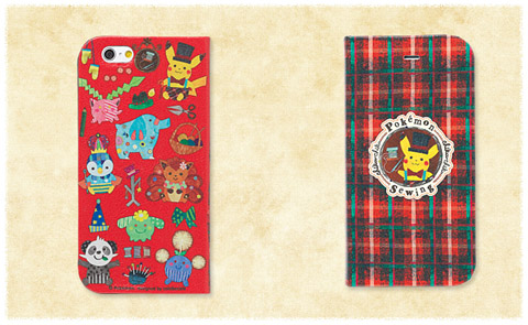 pokémon chiku-chiku sewing iPhone6フリップケース