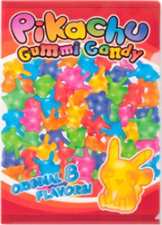 Pikachu Gummi Candy