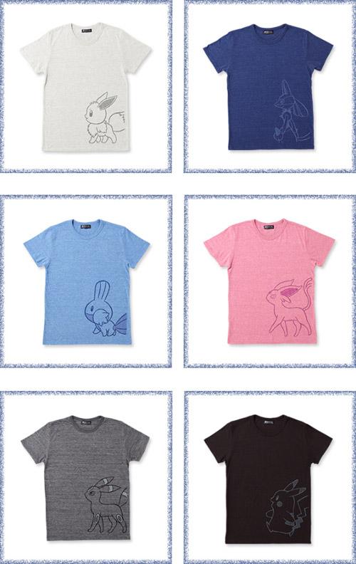 Pokémon Sketch Tシャツ
