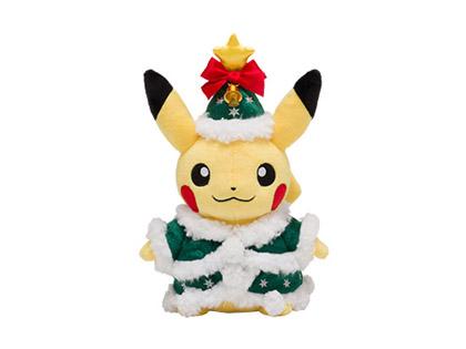 ぬいぐるみ クリスマスツリーピカチュウ