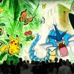 プロジェクションマッピング 『「ピカチュウと踊る探検家」~ジャングル遺跡の謎~』が横浜ランドマークタワー ドックヤードガーデンで公開中!
