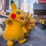 ニューヨークでもピカチュウが大量発生!ポケモン20周年のお祝いイベントとして街を大行進!!