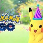 ポケモンの誕生日を記念して、ポケモンGOにとんがり帽子ピカチュウが出現!!