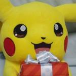 ポケモンVISAカードのポイントで貰えるピカチュウぬいぐるみ!!